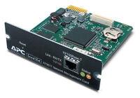 APC - AP9617 UPS Network Management Card - Smart Slot Black