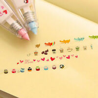 Cute Animals Press Type Decorative Correction Tape School Diary Stationery Fine
