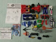 2002 Vintage Transformers Armada Optimus Prime, Power Rangers  Megazord Lot