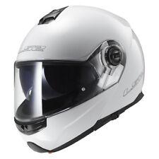 LS2 CASCO plegable para motocicleta con Parasol FF325 Strobe Blanco Talla XL /