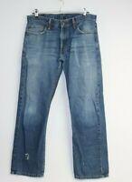 Levi 514 Men's Denim Blue Jeans Size 33