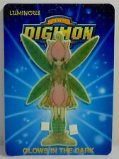 DIGITAL DIGIMON MONSTERS VTG 1999 LILLYMON WALL STICKER GLOWS IN THE DARK MOSC