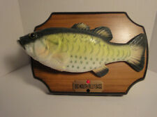 New listing Big Mouth Billy Bass 1999 Gemmy Ind. Motion Singing Fish - Wall or Flip Stand