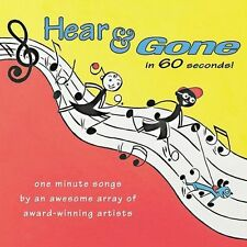 Hear & Gone in 60 Seconds! - Various Artists 2003 (Sealed Audio CD)