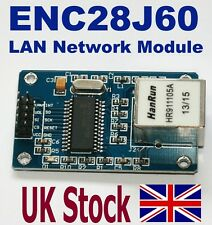 ENC28J60 Ethernet LAN Network Module For Arduino AVR ARM PIC, SPI interface - UK