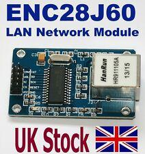 ENC28J60 Ethernet LAN Network Module For Arduino AVR ARM PIC, SPI interface - UK