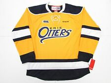 ERIE OTTERS OHL NEW HOME YELLOW CCM PREMIER 7185 HOCKEY JERSEY