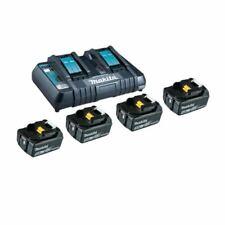 Makita 18V Batterie + Chargeur Double puissance Source Kit 4x Batterie 5,0Ah