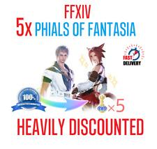 FFXIV Fantasia Final Fantasy 14 FIVE Phials of Fantasia (5 VIALS) | 🌎 NA & EU