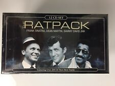 The Ratpack 12 CD Boxed Set VGC Collectable Brand New and Sealed Sinatra Martin