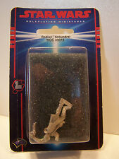 Star Wars Roleplaying Miniatures Rodian Scoundrel WOC 40072 Pewter MOC