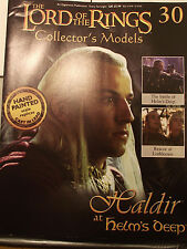 Haldir at Helms Deep. Collectable Model & magazine. Eaglemoss. Issue 30 (G218)
