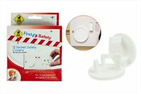 12 x Plug Socket Covers - Baby & Child Safety