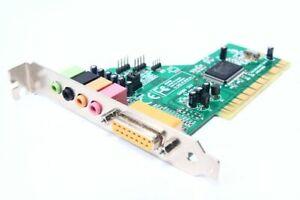 Trust SC-5100 5.1 Surround Sound-Card PCI Computer Audio Card Midi / Game Port