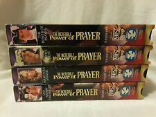 The Incredible Power of Prayer Vhs Set - Volume 1-4 w/ Discussion Guides