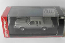 BUICK REGAL T-TYPE 1986 3.8 SFI TURBO SILVER AUTOWORLD 1138-06 1/43 SILBER GREY