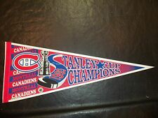 1993 Stanley Cup Finals Pennant Montreal Canadians vs LA Kings