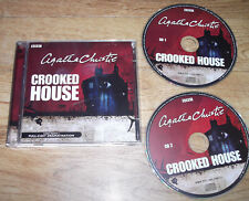Agatha Christie CROOKED HOUSE Audio CDs BBC Radio Drama 2 Hours Roy Kinnear