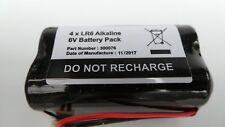 4 x LR6 Alkaline 6V Battery Pack