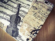 Shabby Chic  Music 100% Cotton Fabric. Price per 1/2 meter