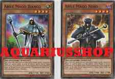 Yu-Gi-Oh Abile Mago Nero + Bianco YGLD-ITC19 Comune ITA Skilled Dark Magician