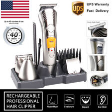 Electric Body Beard Hair Cut Clipper Shaving Machine Clipper Trimmer Set Barber