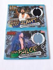 WWE Slam Attax Mat Memorabilia CARDS X2
