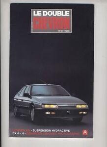 (156A) CITROEN Le double chevron N°97 / 1989