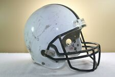 Riddell Game Used Worn Youth Vsr2 Football Helmet Large White No front pad 68