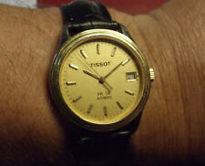TISSOT PR 50 MEN'S AUTOMATIC DATE GOLD COLOR SAPPHIRE CRISTAL - SWISS MADE