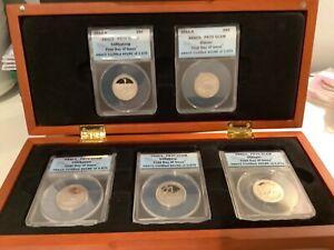 2011 S  National Park Quarter Set ANACS PR70 DCAM First Day PR 70 Proof A22.31