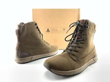 Reef Rover Hi WT Women's Brown Leather Lace Up Chukka Boots US 8.5 Shoes C814