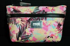 Victoria's Secret PINK Makeup Bag Purse Cosmetic Case *Bright Palm* FREE SHIP