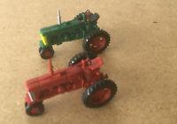 M1:87  ,  - CASE Hi International , 2 amerikan. Oldtimer-Traktoren