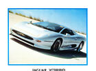 1992 Jaguar XJ220 Original 1-page Car Sales Brochure Fact Sheet