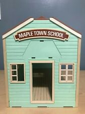 Maple-town School-house vtg calico critters Sylvanian family epoch doll-house
