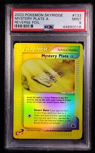 PSA 9 Mystery Plate A 133 Reverse Holo Skyridge 2003 Mint Card