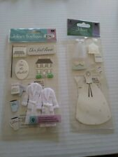 2 Jolee's Marriage Wedding Sticker Packages - Lot