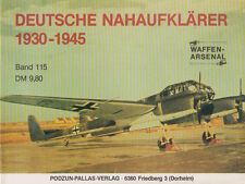 Waffen-Arsenal (WA 115) Deutsche Nahaufklärer 1930-1945 Luftwaffe 2. Weltkrieg