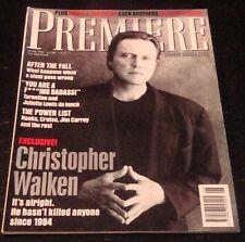 PREMIERE magazine UK #41 1996, Christopher Walken, Pamela Anderson, Tarantino