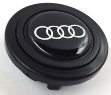 Audi steering wheel horn push button. Fits Momo Sparco OMP Nardi Raid logo etc