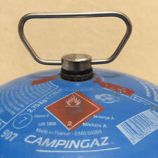 EXTRA WIDE & STRONG METAL CAMPINGAZ CARRY HANDLE FOR 907,904 or 901 GAS BOTTLES