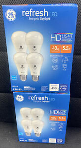 ✅ Lot Of 2 Refresh LED Bulb, 450+800LUMENS (8 Bulbs Total) NEW