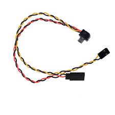 Micro USB Camera SJ4000/5000/6000 AV Video Rechargeable FPV Transmission Cable E