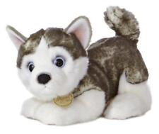 "L@@K Aurora 9.5"" Long Siberian Husky Pup 26152 Stuffed Animal Soft Baby Toy NEW"