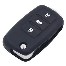 Hot Silicone Car Key Cover for Volkswagen Passat jetta Golf Cross Fox Plus Black