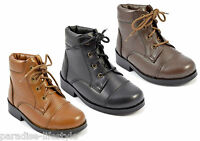 Junior Infant Kids Boots Children Leather School Shoes Boys Girls Size New Style