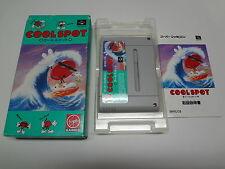 Cool Spot Nintendo Super Famicom Japan/C