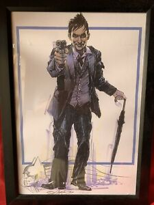 WonderCon Gotham Penguin Print #1/100 Signed And Batman Remarque By Neal Adams