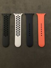 Apple Watch Sport Band 42mm 44mm OEM S/M Nectarine Midnight Blue Nike Platinum